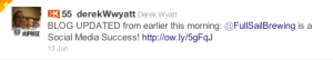 Relating with bloggers can be done better with the Twitter Favorites feature.