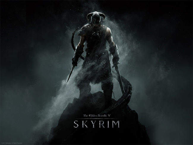 Skyrim on Xbox 360