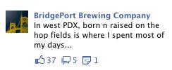Humorous Facebook Ad