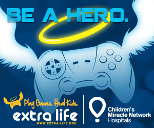 Extra Life Controller with Wings