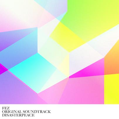 Fez soundtrack album cover artwork